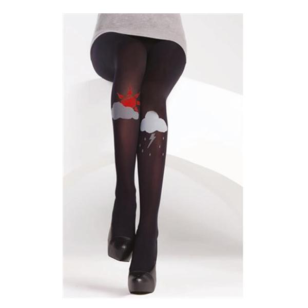 جوراب شلواری طرح دار