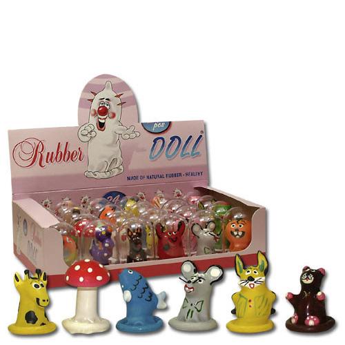 خرید کاندوم عروسکی فانتزی همراه لوبریکانت