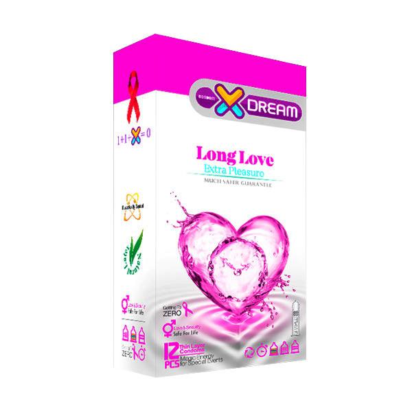 کاندوم تاخیری مدل X-DREAM Long Love
