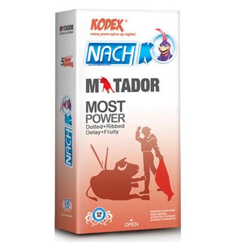 خرید کاندوم خار دار و حلقوی NACH KODEX MATADOR