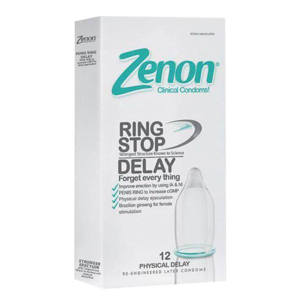 کاندوم 12عددی تاخیری فیزیکی زنون Zenon Ring Stop