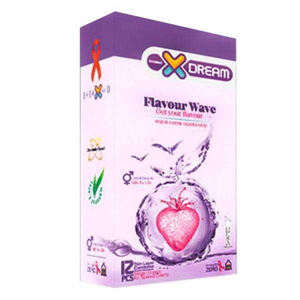 کاندوم میوه ای مدل X-DREAM flavour Wave