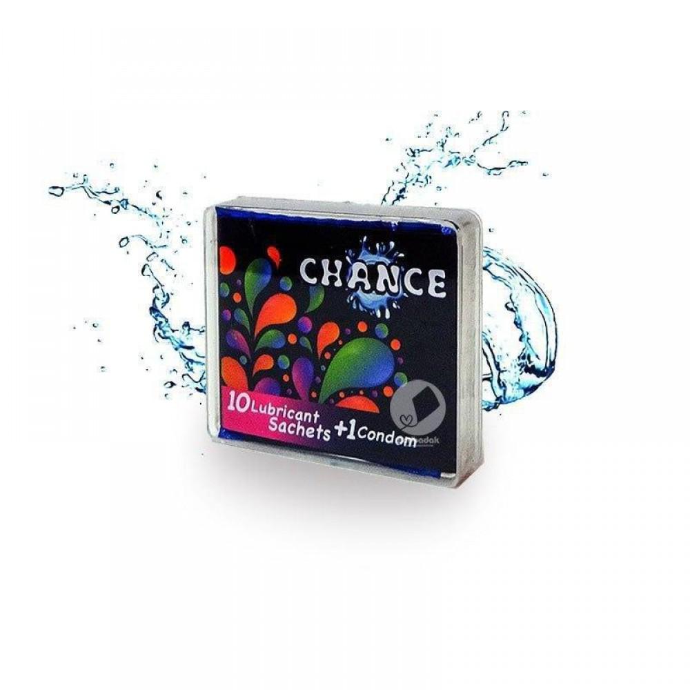 پک ده عددی روان کننده Chance + بعلاوه کاندوم