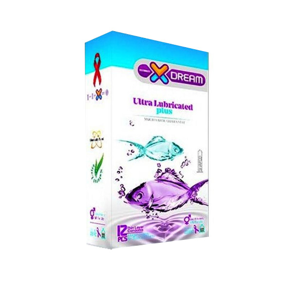 کاندوم مدل X-DREAM ultra Lubricated plus