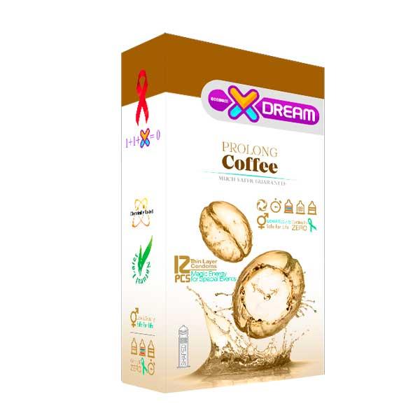 کاندوم تاخیری مدل X-DREAM prolong Coffee