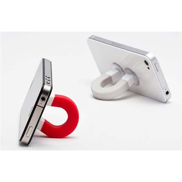 نگهدارنده موبایل طرح آهن ربا